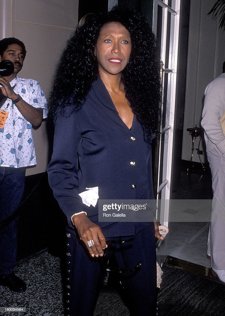 Singer Ruth Pointer of The Pointer Sisters attends the BMI's 50th Anniversary/First Annual BMI Michael Jackson Award Salute to Michael Jackson on May 8, 1990 at the Regent Beverly Wilshire Hotel in Beverly Hills, California.