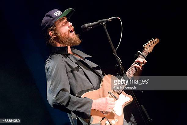Singer Ry Cuming aka RY X performs at the Volksbuehne on February 13 2015 in Berlin Germany