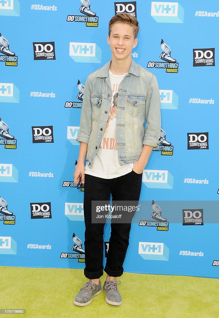 Singer <a gi-track='captionPersonalityLinkClicked' href=/galleries/search?phrase=Ryan+Beatty&family=editorial&specificpeople=8710529 ng-click='$event.stopPropagation()'>Ryan Beatty</a> arrives at the 2013 Do Something Awards at Avalon on July 31, 2013 in Hollywood, California.
