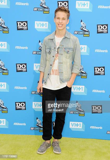 Singer Ryan Beatty arrives at the 2013 Do Something Awards at Avalon on July 31 2013 in Hollywood California