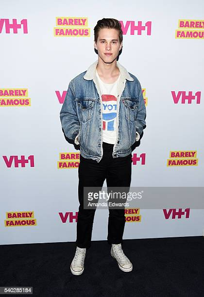 Singer Ryan Beatty arrives at the premiere for VH1's 'Barely Famous' Season 2 on June 14 2016 in West Hollywood California