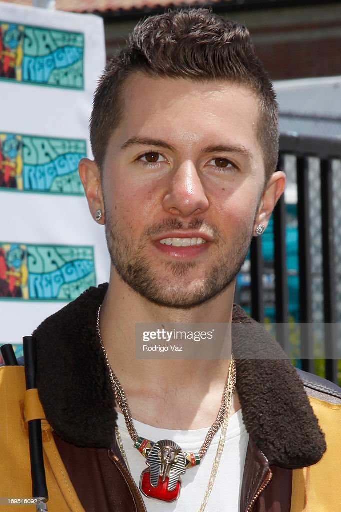 Singer Ryan McDermott attends the 27th Annual JazzReggae Festival - Day 1 at UCLA on May 26, 2013 in Los Angeles, California.