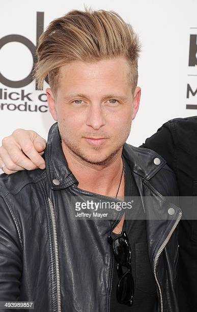Singer Ryan Tedder of OneRepublic arrives at the 2014 Billboard Music Awards at the MGM Grand Garden Arena on May 18 2014 in Las Vegas Nevada