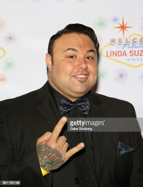Singer Ryan Whyte Maloney attends the debut of 'Linda Suzanne Sings Divas of Pop' at the South Point Hotel Casino on October 15 2017 in Las Vegas...