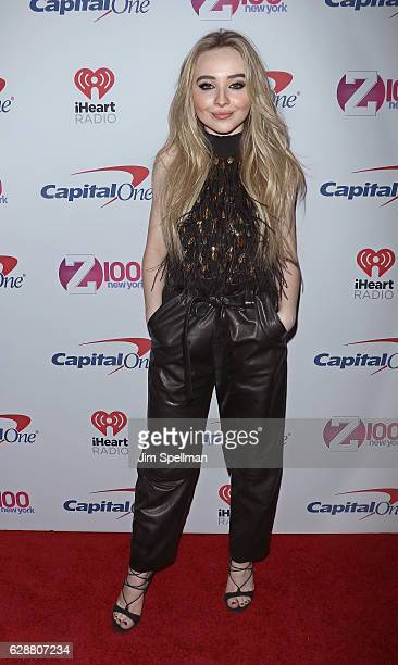 Singer Sabrina Carpenter attends Z100's Jingle Ball 2016 at Madison Square Garden on December 9 2016 in New York City