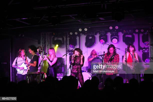 Singer Sabrina Ellis of Sweet Spirit performs during the Spoon SXSW Residency 2017 SXSW Conference and Festivals on March 16 2017 in Austin Texas