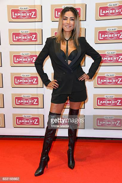 Singer Sabrina Setlur attends the 'Lambertz Monday Schoko Night 2017' on January 30 2017 in Cologne Germany