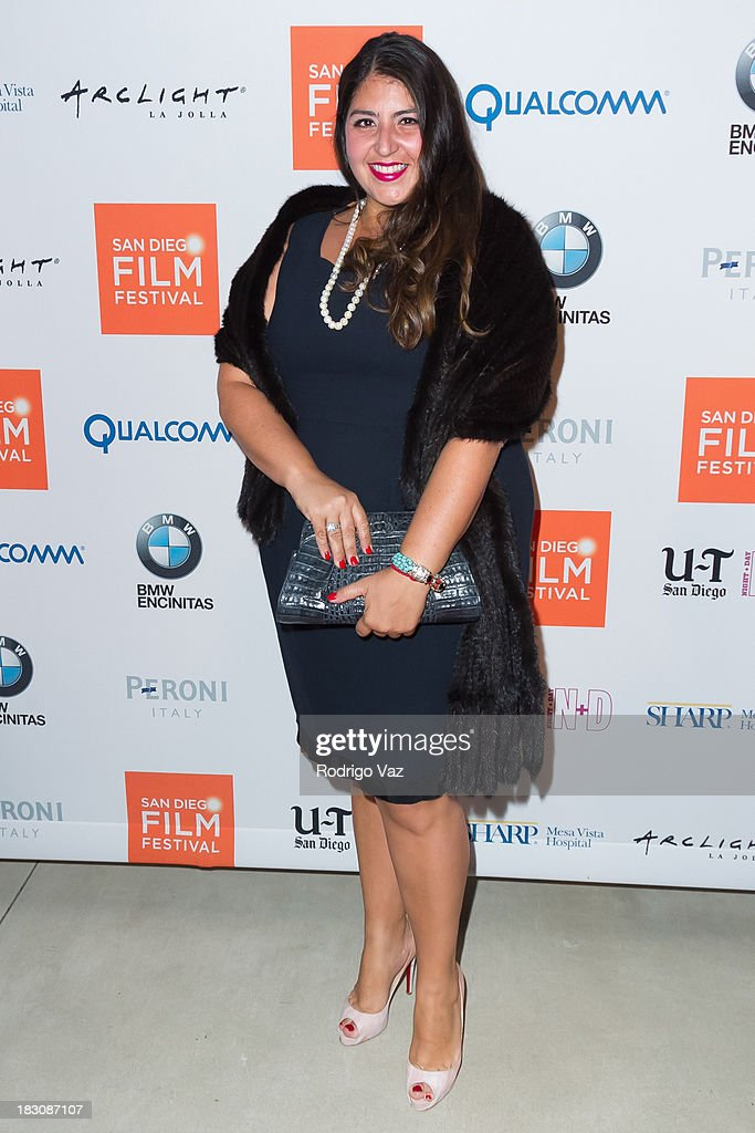 Singer Sacha Butros arrives at San Diego Film Festival's tribute to honor Judd Apatow at Museum of Contemporary Art on October 3, 2013 in La Jolla, California.