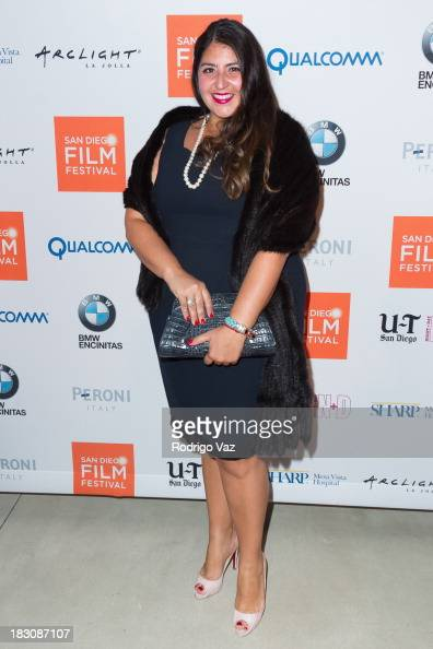 Singer Sacha Butros arrives at San Diego Film Festival's tribute to honor Judd Apatow at Museum of Contemporary Art on October 3 2013 in La Jolla...