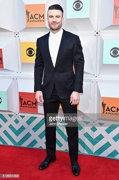 Singer Sam Hunt attends the 51st Academy of Country Music Awards at MGM Grand Garden Arena on April 3 2016 in Las Vegas Nevada