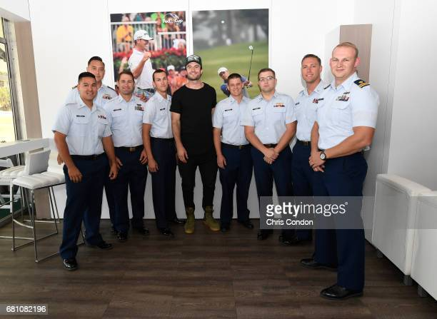 Singer Sam Hunt during a meet and greet at the Patriots Outpost during previews prior to the start of THE PLAYERS Championship on THE PLAYERS Stadium...