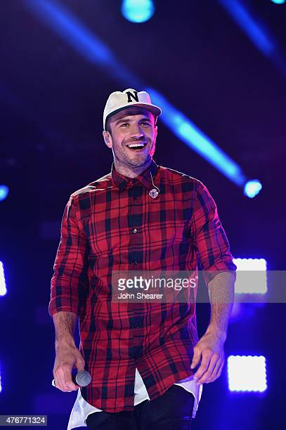 Singer Sam Hunt performs onstage during the 2015 CMA Festival on June 11 2015 in Nashville Tennessee