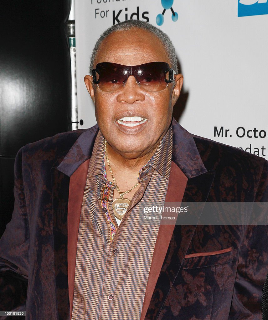 Singer <a gi-track='captionPersonalityLinkClicked' href=/galleries/search?phrase=Sam+Moore&family=editorial&specificpeople=828179 ng-click='$event.stopPropagation()'>Sam Moore</a> attends the 8th All Star Celebrity Classic benefiting the Mr October Foundation for Kids at Cosmopolitan Hotel on November 11, 2012 in Las Vegas, Nevada.