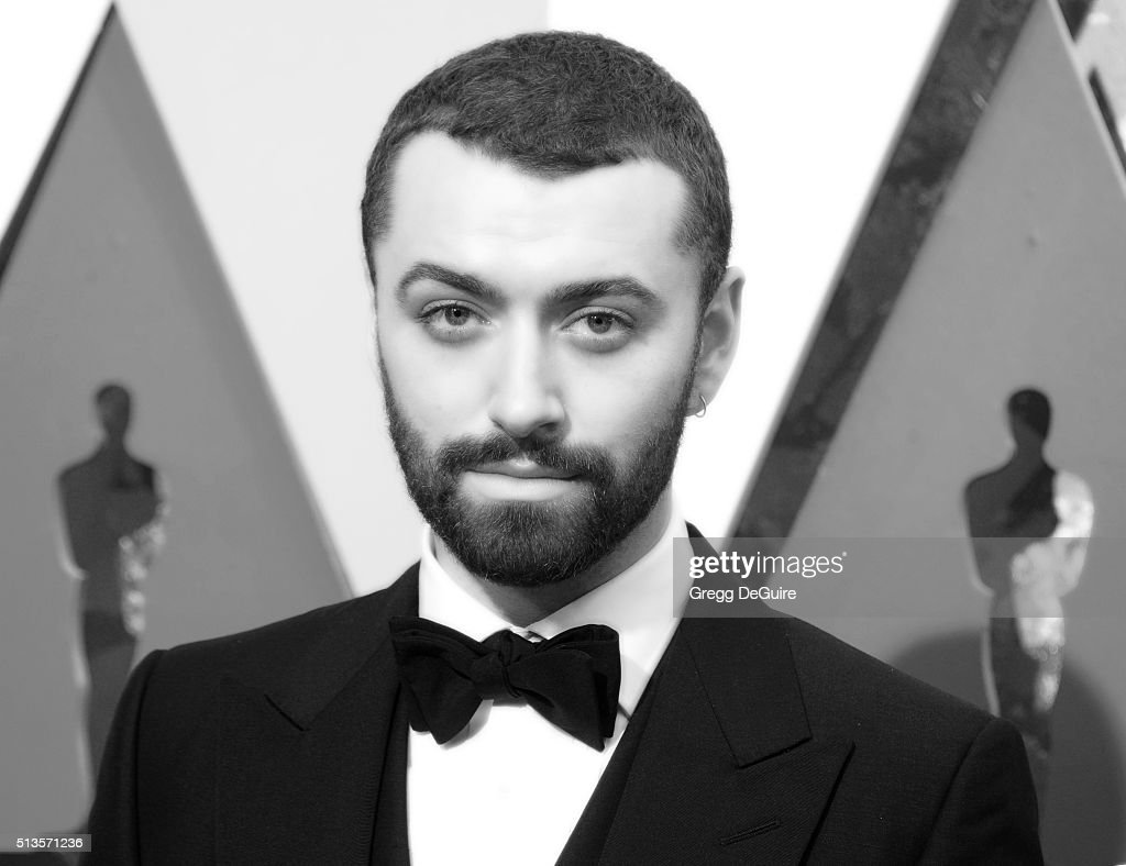 Singer Sam Smith arrives at the 88th Annual Academy Awards at Hollywood & Highland Center on February 28, 2016 in Hollywood, California.