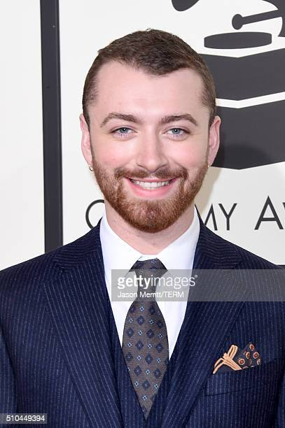 Singer Sam Smith attends The 58th GRAMMY Awards at Staples Center on February 15 2016 in Los Angeles California