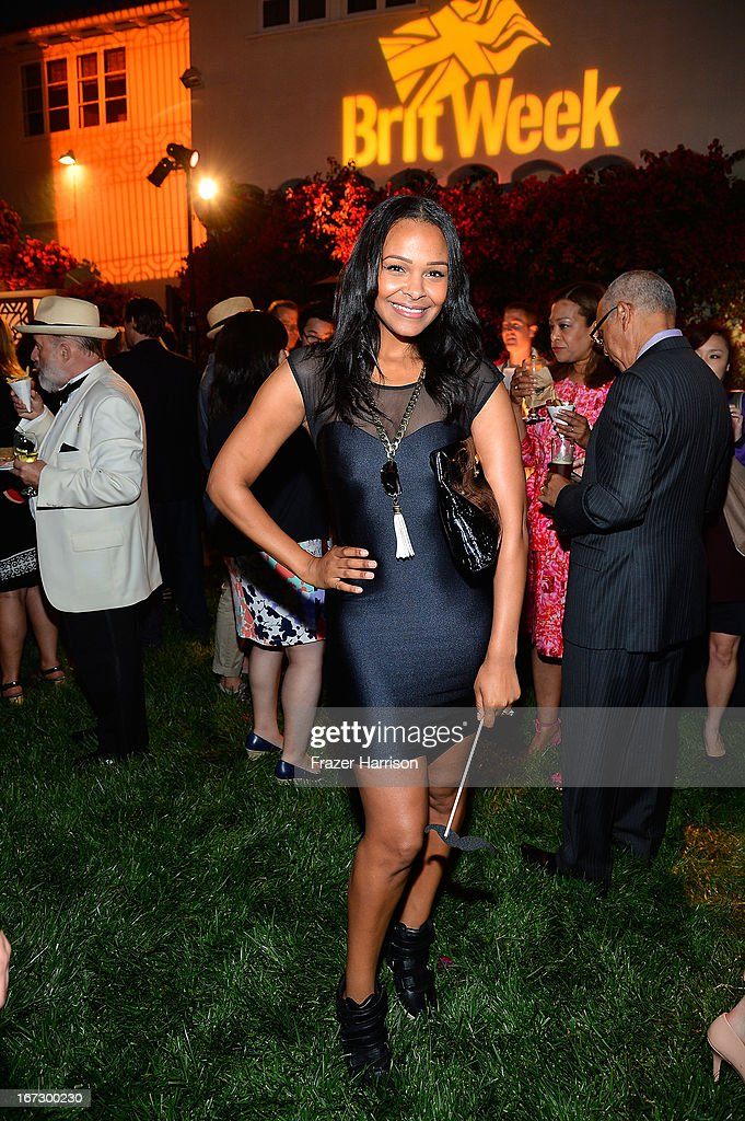 Singer Samantha Mumba attends the launch of the Seventh Annual BritWeek Festival 'A Salute To Old Hollywood' on April 23, 2013 in Los Angeles, California.