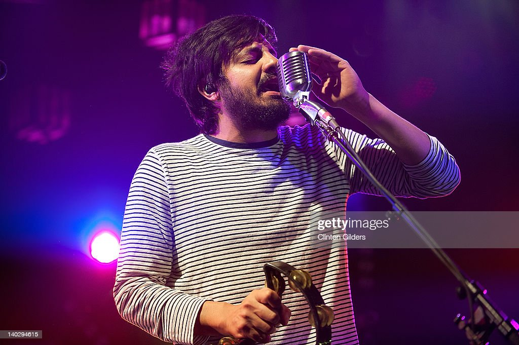 Singer Sameer Gadhia of Young The Giant performs at The Sound Academy on March 1, 2012 in Toronto, Canada.