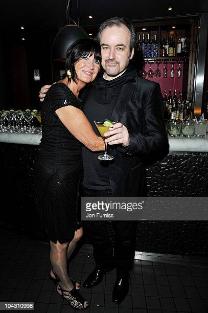 Singer Sandie Shaw and composer David Arnold attend the 'Made In Dagenham' world premiere after party at Floridita on September 20 2010 in London...