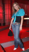 Singer Sandy Moelling attends Maxim's 'Woman of the Year' Award on December 9 2004 at the Axel Springer building in Berlin Germany