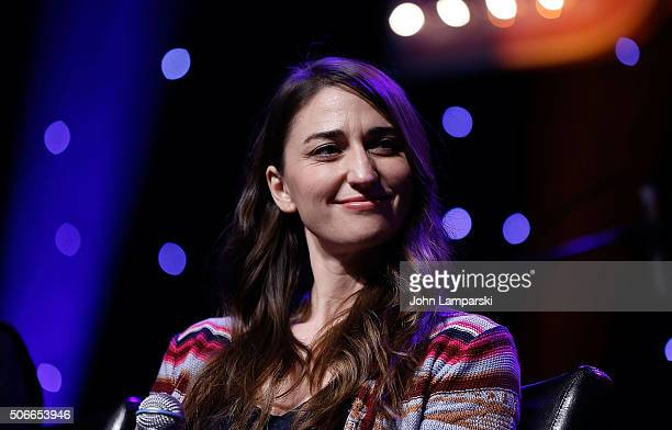 Singer Sara Bareilles attends BroadwayCon 2016 at the Hilton Midtown on January 24 2016 in New York City