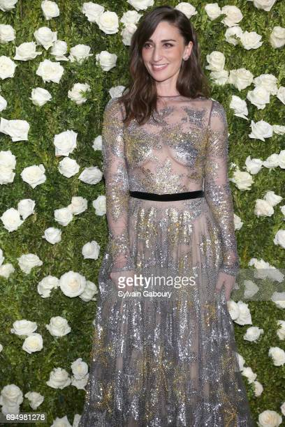 Singer Sara Bareilles attends the 2017 Tony Awards at Radio City Music Hall on June 11 2017 in New York City