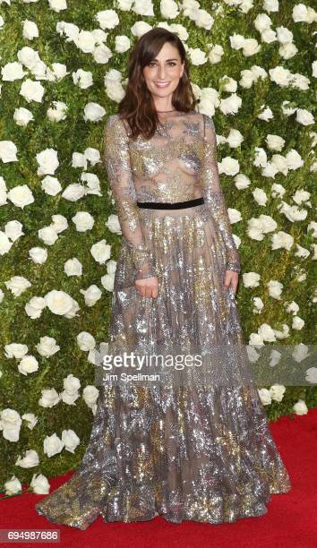 Singer Sara Bareilles attends the 71st Annual Tony Awards at Radio City Music Hall on June 11 2017 in New York City