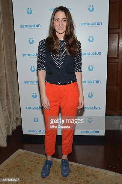 Singer Sara Bareilles attends the SeriousFun Children's Network Gala at Cipriani 42nd Street on April 2 2014 in New York City