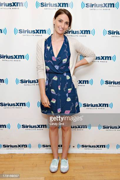 Singer Sara Bareilles visits the SiriusXM Studios on July 8 2013 in New York City