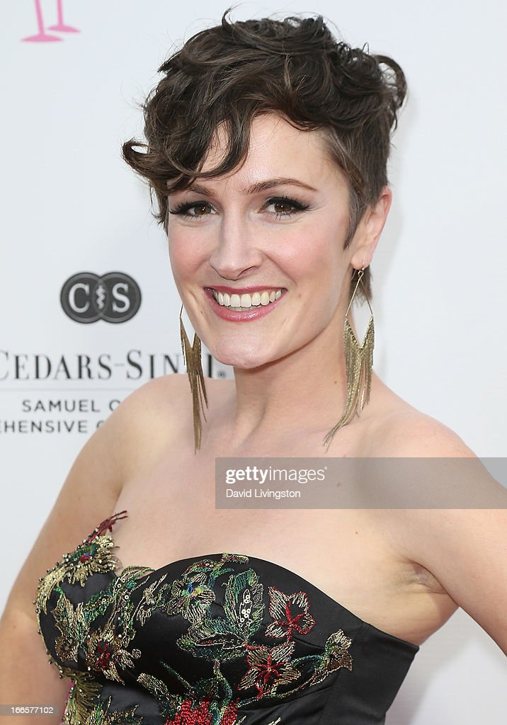 Singer Sara Gazarek attends the 'What A Pair!' benefit concert at The Broad Stage on April 13, 2013 in Santa Monica, California.