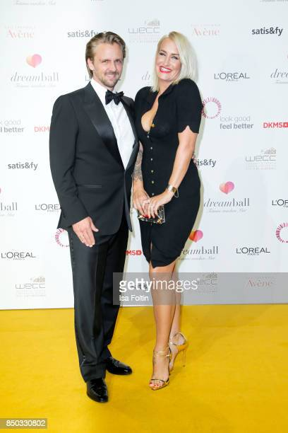 Singer Sarah Connor and her partner Florian Fischer attend the Dreamball 2017 at Westhafen Event Convention Center on September 20 2017 in Berlin...