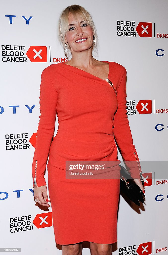 Singer Sarah Connor attends the 2014 Delete Blood Cancer Gala at Cipriani Wall Street on May 7, 2014 in New York City.
