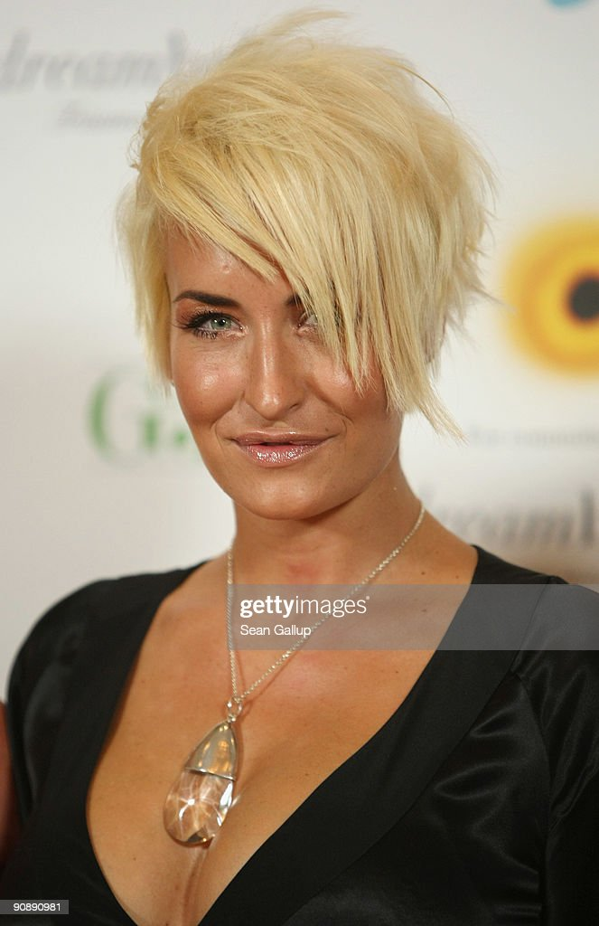 Singer Sarah Connor attends the dreamball 2009 charity gala at the RitzCarlton on September 17 2009 in Berlin Germany