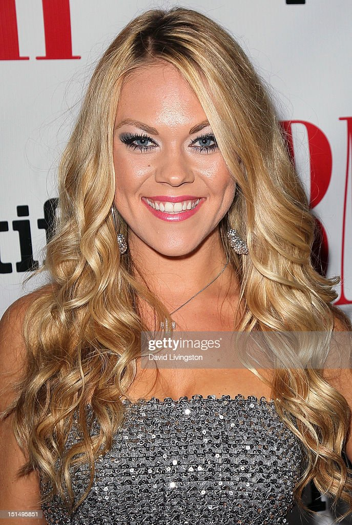 Singer Sarah Lenore attends the 12th Annual BMI Urban Awards at the Saban Theatre on September 7, 2012 in Beverly Hills, California.