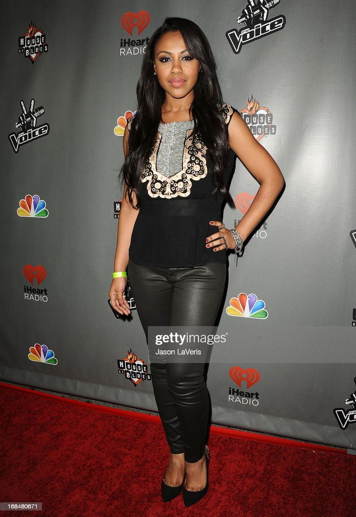 Singer Sasha Allen attends 'The Voice' season 4 premiere at House of Blues Sunset Strip on May 8, 2013 in West Hollywood, California.