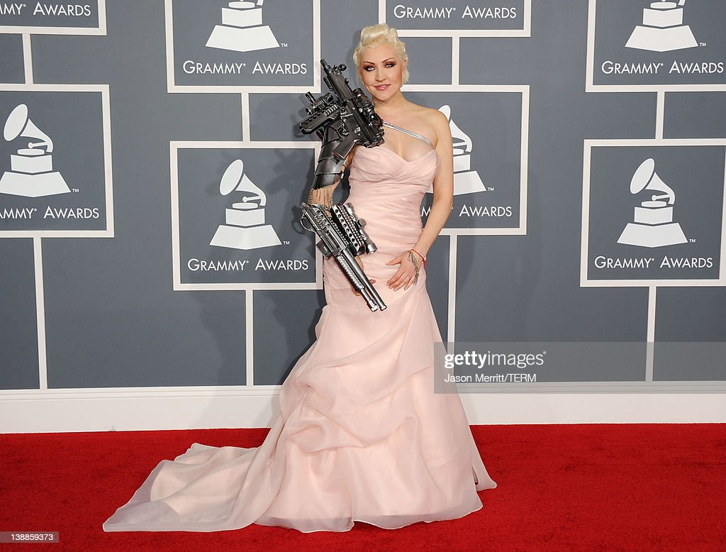 Singer Sasha arrives at the 54th Annual GRAMMY Awards held at Staples Center on February 12, 2012 in Los Angeles, California.
