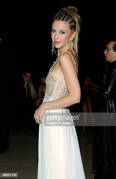 Singer Sasha Lazard attends the 250th Anniversary Celebration of luxury watch brand Vacheron Constantin hosted by Melania Trump on October 24 2005 in...