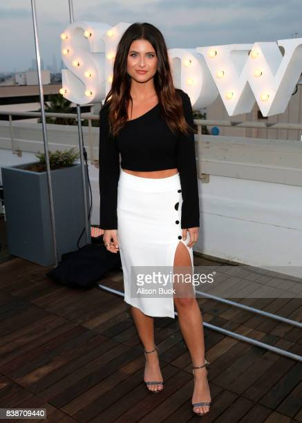Singer Savannah Outen attends SHOWPO US Launch Party At Neuehouse Hollywood at NeueHouse Hollywood on August 24 2017 in Los Angeles California