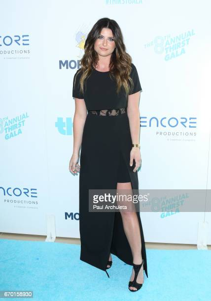 Singer Savannah Outen attends the 8th annual Thirst Gala at The Beverly Hilton Hotel on April 18 2017 in Beverly Hills California