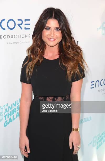 Singer Savannah Outen attends the Thirst Project's 8th Annual thirst Gala at Beverly Hills Hotel on April 18 2017 in Beverly Hills California
