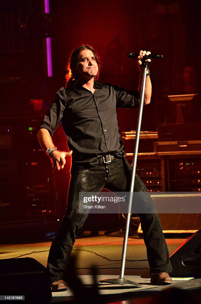 Singer Scott Stapp of the band Creed performs at the Beacon Theatre on April 20, 2012 in New York City.