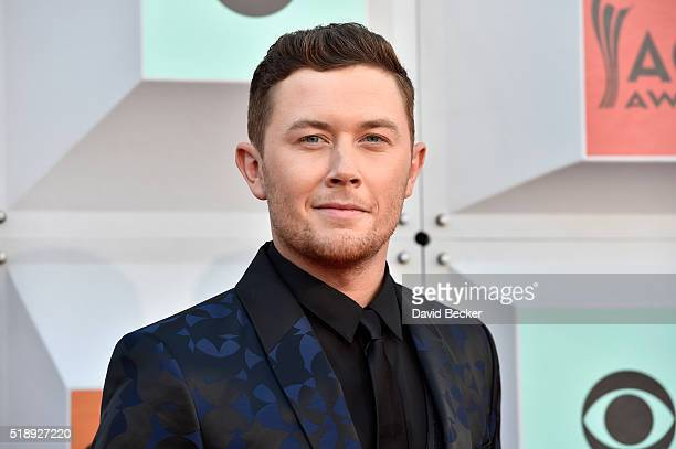 Singer Scotty McCreery attends the 51st Academy of Country Music Awards at MGM Grand Garden Arena on April 3 2016 in Las Vegas Nevada
