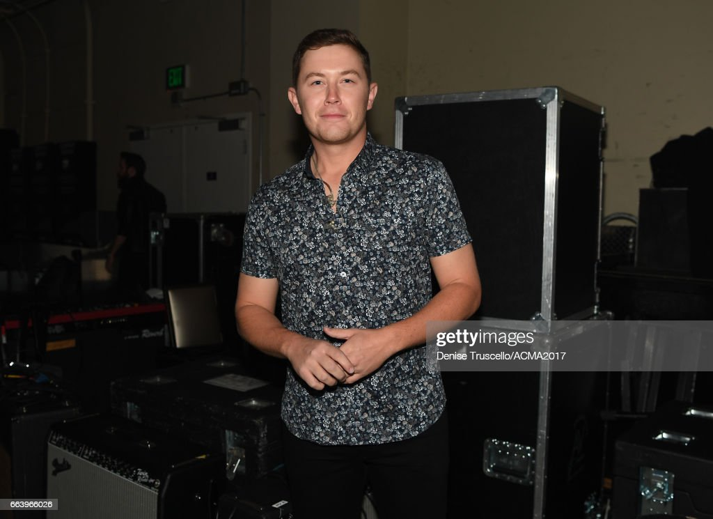 Singer Scotty McCreery attends the ACM Awards official after party at The Joint inside the Hard Rock Hotel & Casino on April 2, 2017 in Las Vegas, Nevada.