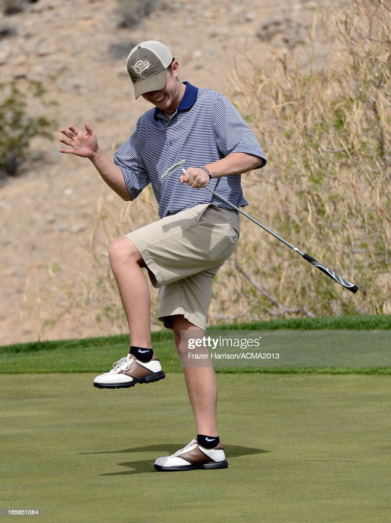 Singer Scotty McCreery attends the ACM Lifting Lives Celebrity Golf Classic during the 48th Annual Academy of Country Music Awards at TPC Summerlin on April 6, 2013 in Las Vegas, Nevada.