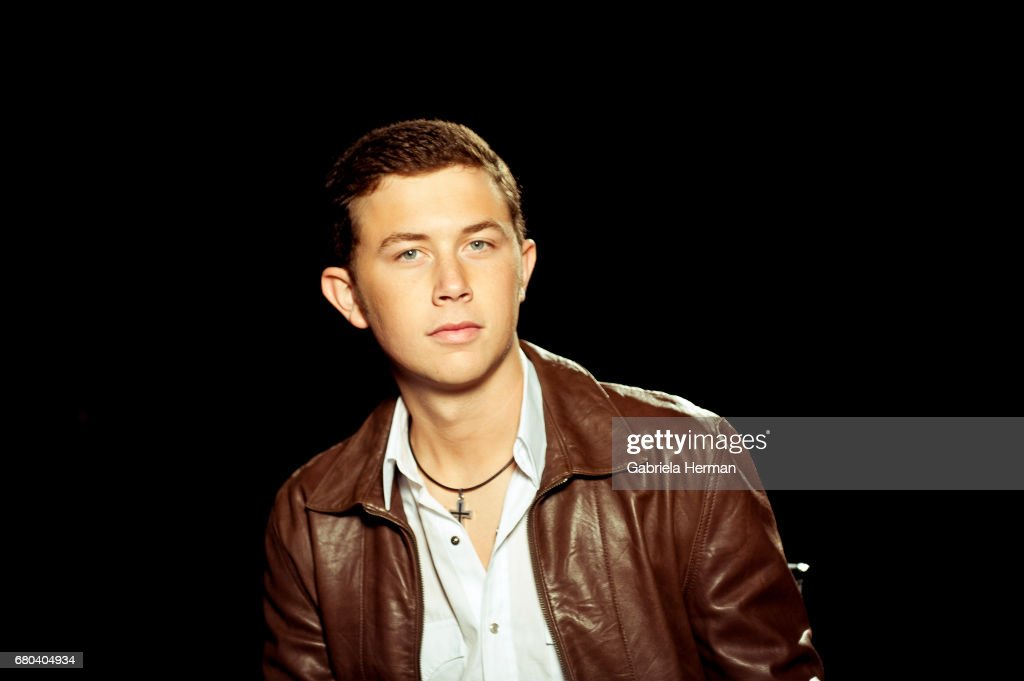Singer Scotty McCreery is photographed for Billboard Magazine on October 3, 2011 in New York City.