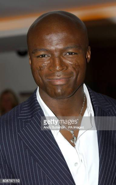 Singer Seal arrives for the Capital Gold Legends Awards at Hilton London Metropole in central London The annual awards coincides with 30th...