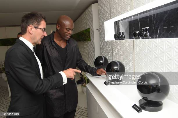 Singer Seal attends The Harmonist Party during the 70th annual Cannes Film Festival at on May 22 2017 in Cannes France