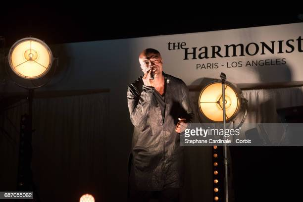 Singer Seal performing at The Harmonist Party during the 70th annual Cannes Film Festival at on May 22 2017 in Cannes France