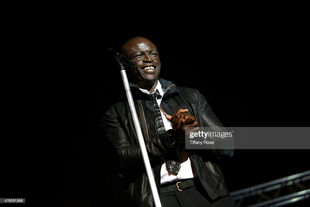 Singer <a gi-track='captionPersonalityLinkClicked' href=/galleries/search?phrase=Seal+-+Singer&family=editorial&specificpeople=202832 ng-click='$event.stopPropagation()'>Seal</a> performs at the Lupus LA's Orange Ball A Night of Superheroes at the Fox Studio lot on June 6, 2015 in Century City, California.