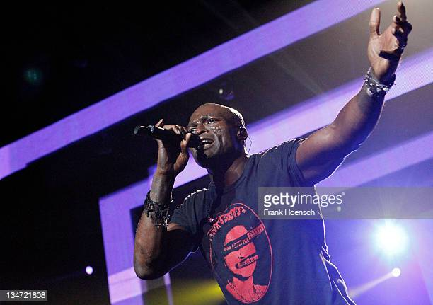 Singer Seal performs live during a concert at the O2 World on December 3 2011 in Berlin Germany