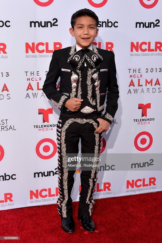 Singer Sebastien De La Cruz arrives at the 2013 NCLR ALMA Awards at Pasadena Civic Auditorium on September 27, 2013 in Pasadena, California.